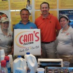 Cam's Pizzeria (Tony Calascibetta) helping out