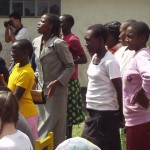 World Teacher Aid Churc Service with Women Dancing