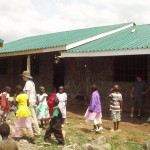 Helping to build a school In Nakuru Kenya