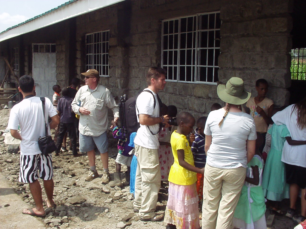Assessing work to be done in the school building