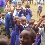 Excited to enter the rooms in kenya with World teacher aid