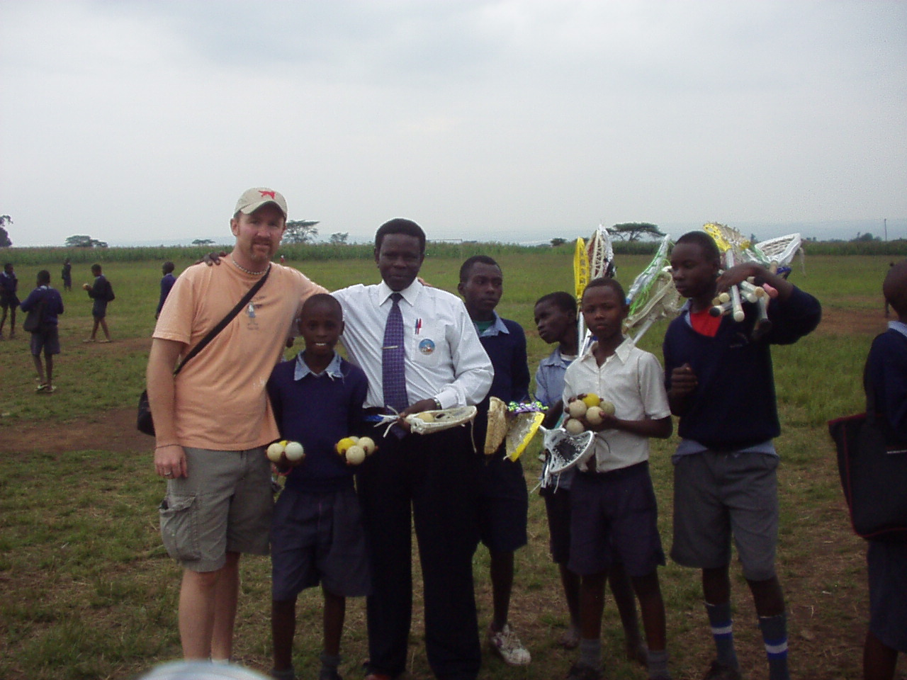Lacrosse Meets Kenya through World Teacher Aid with Dave Gardner of BasicLacrosse.com