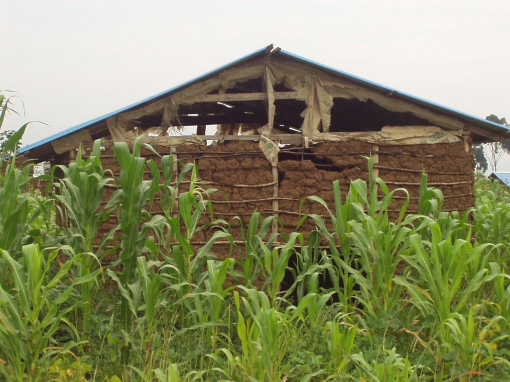 Kenyan House showing need of repair