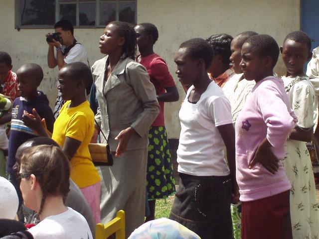 World Teacher Aid Churc Service with Women Dancing