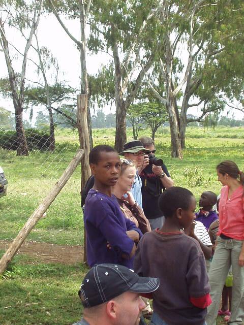 World Teacher Aid Donors at Church service