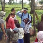 World Teacher Aid Donors mingling with the Kenyan Community at Nakuru